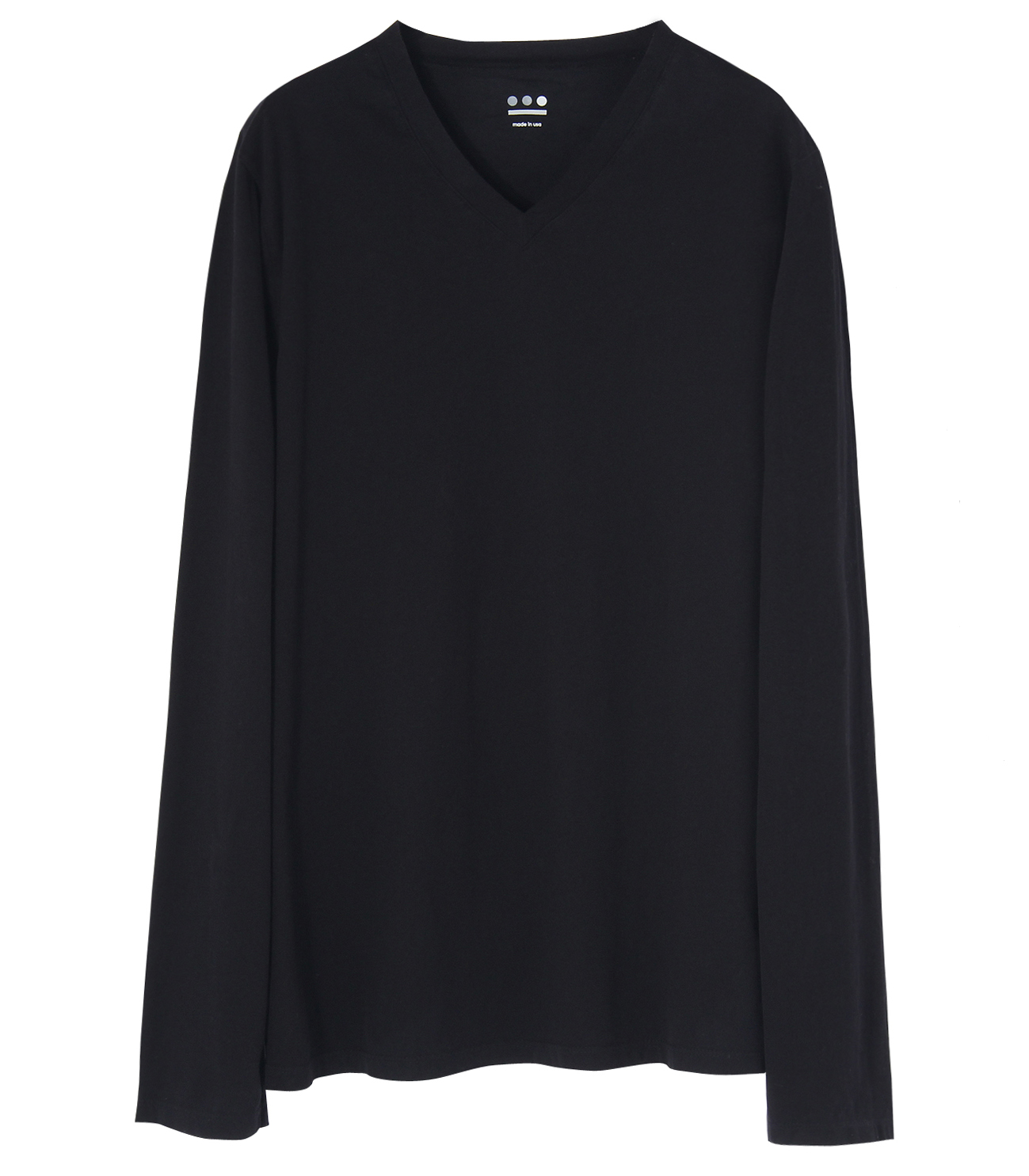 Ryan (new basic line) sanded jersey 詳細画像 black 1
