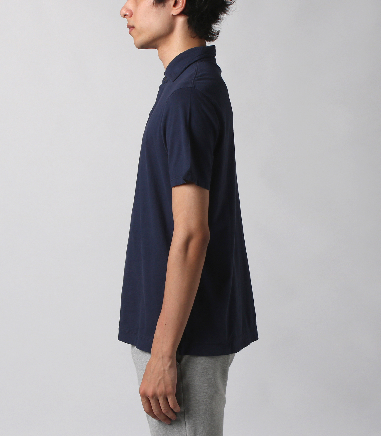 George (new basic line) sanded jersey 詳細画像 GRANITE 3