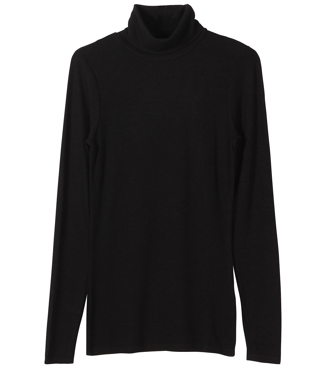 2×1 viscose l/s turtleneck 詳細画像 black 1