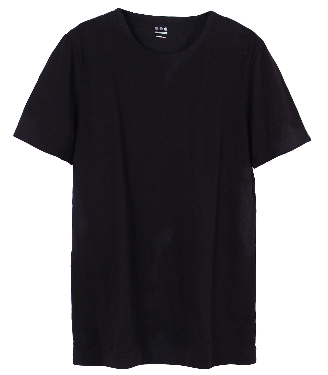 James (new basic line) sanded jersey 詳細画像 black 1