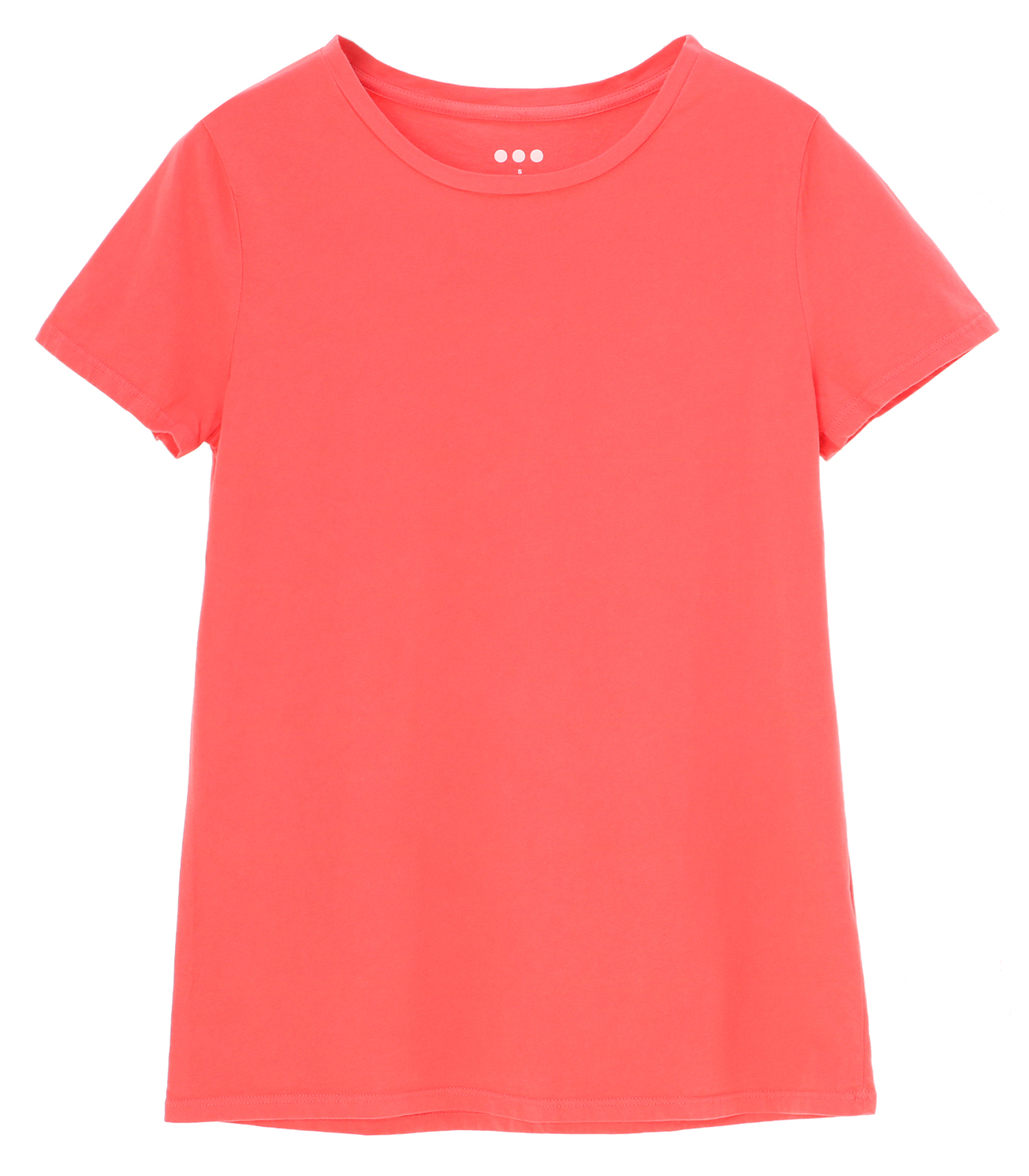 Rita sanded jersey crew classic tee 詳細画像 coral powder 1