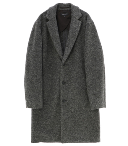 Men's airly compress wool coat