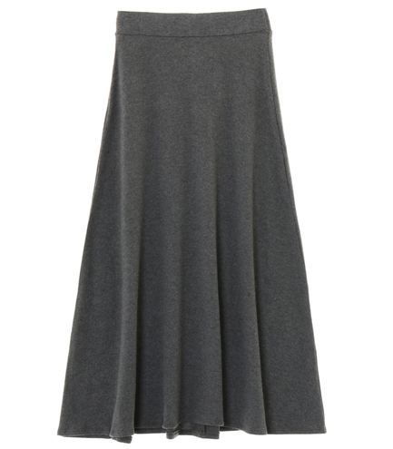brushed sweater long skirt