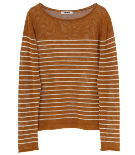 lustered sweater l/s pull over