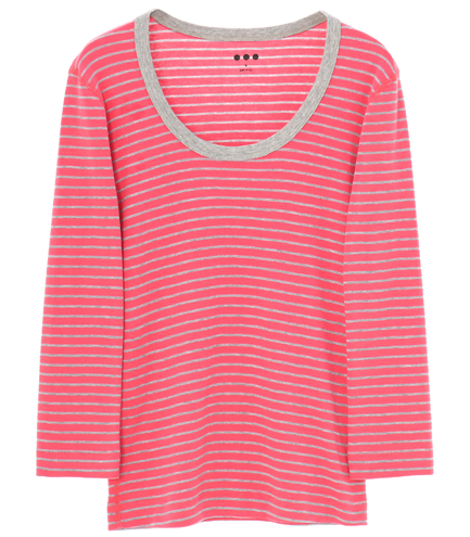 Jessica T cotton knit 3/4
