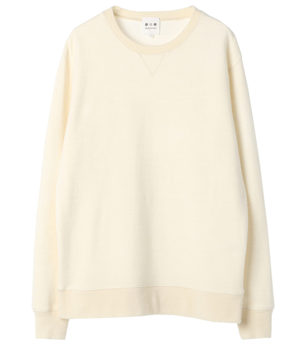 double faceknit crewneckpo