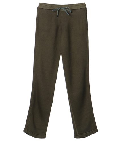 novelty fleece baker pant