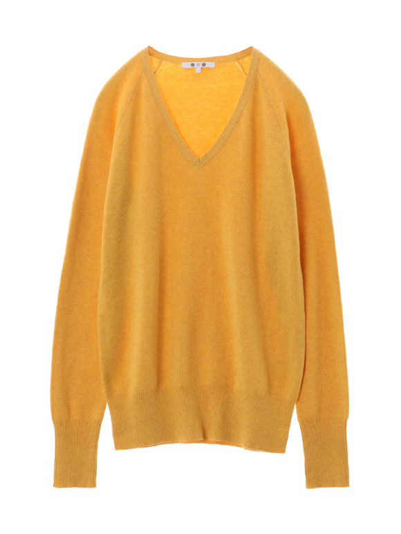 cotton melange smooth pullover