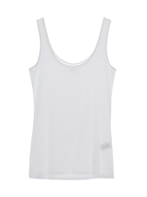 refined jersey fitted tank