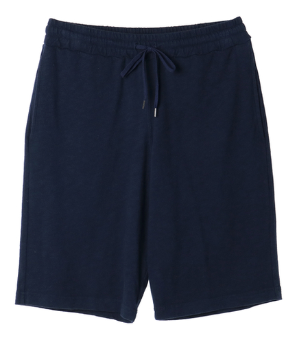 sueded slub knit short