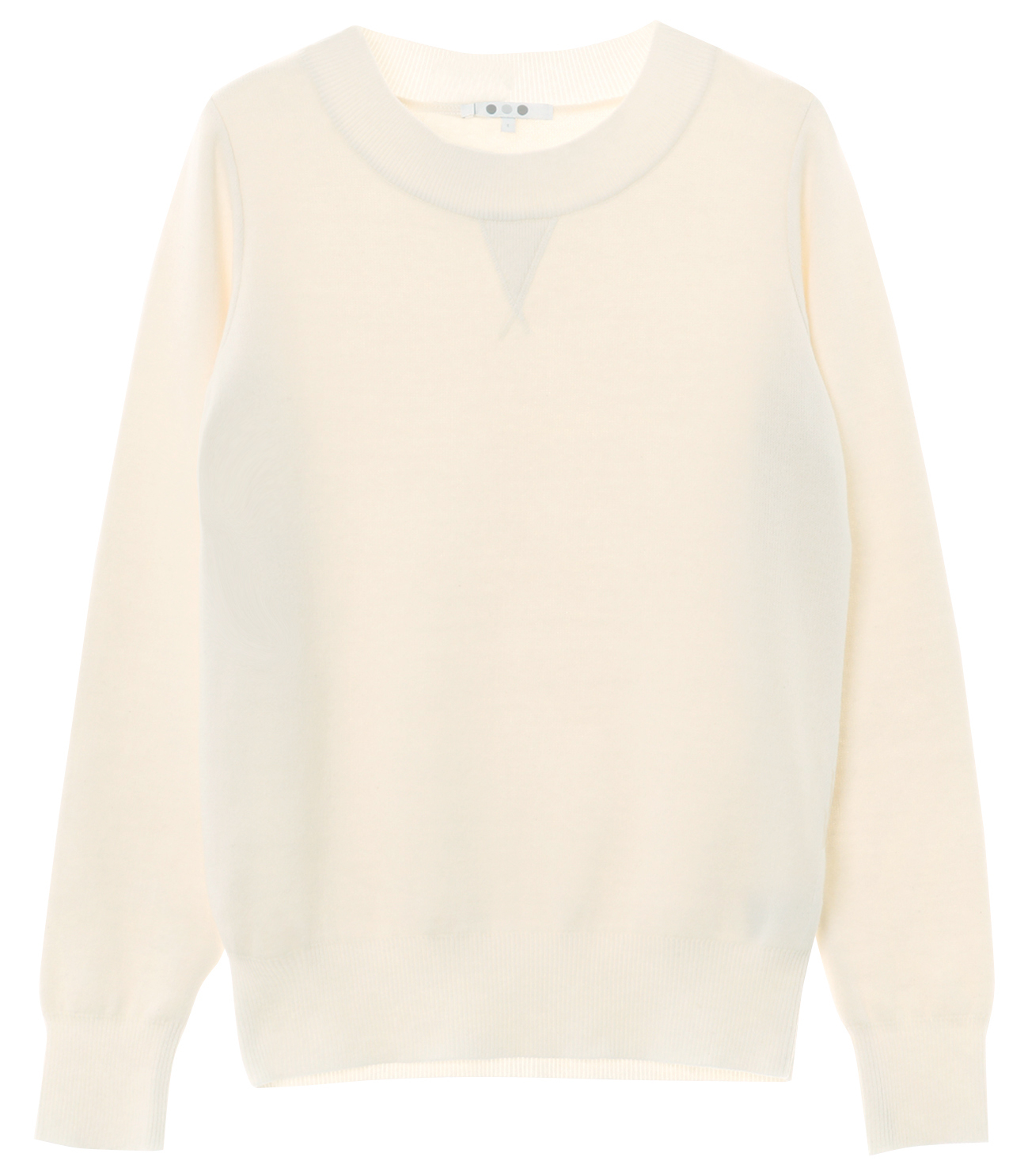 warm cotton l/s crew neck 詳細画像 ivory 1