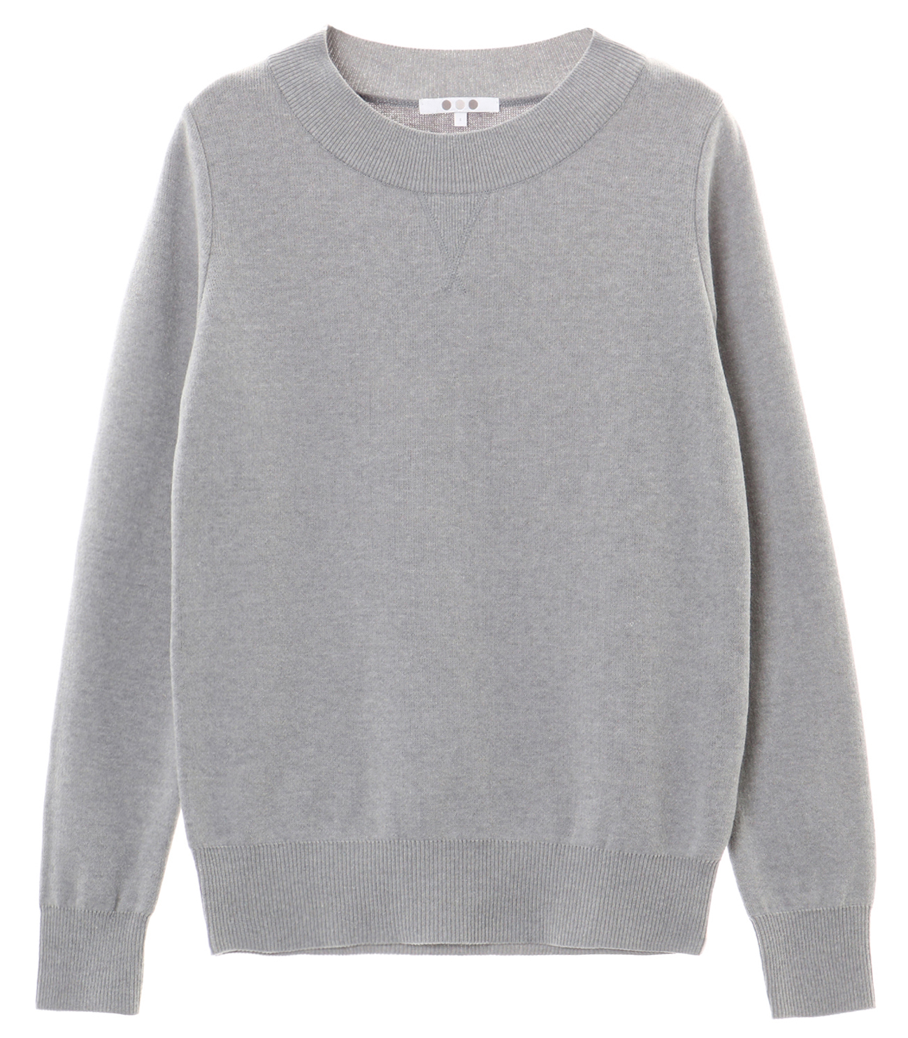 warm cotton l/s crew neck 詳細画像 grey 1
