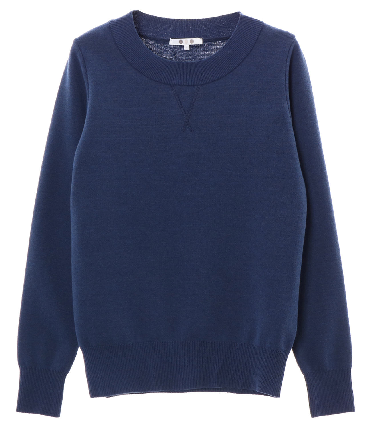 warm cotton l/s crew neck 詳細画像 navy 1