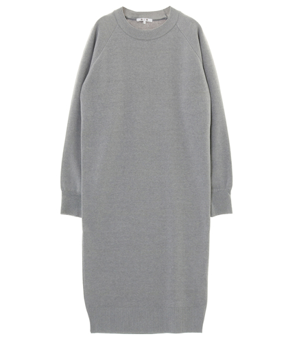 warm cotton l/s dress