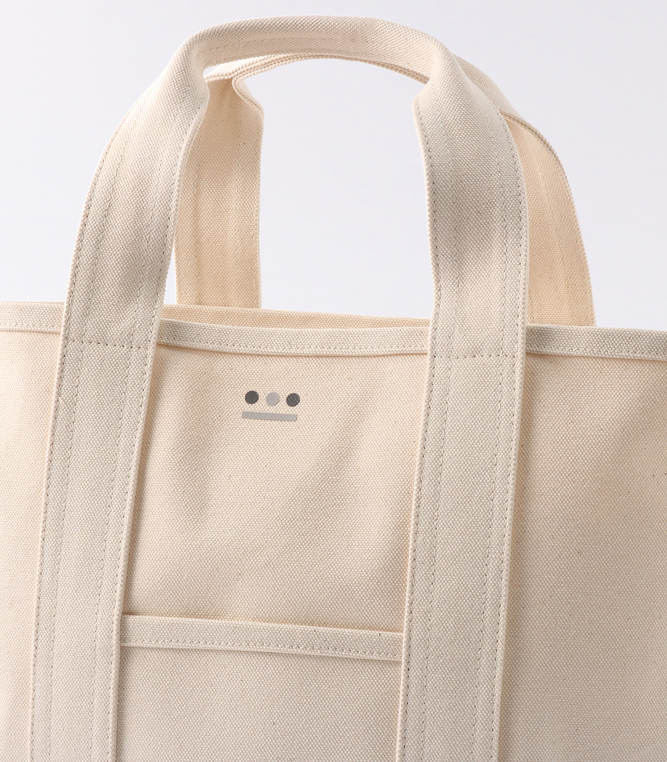middle tote bag 詳細画像 white 4