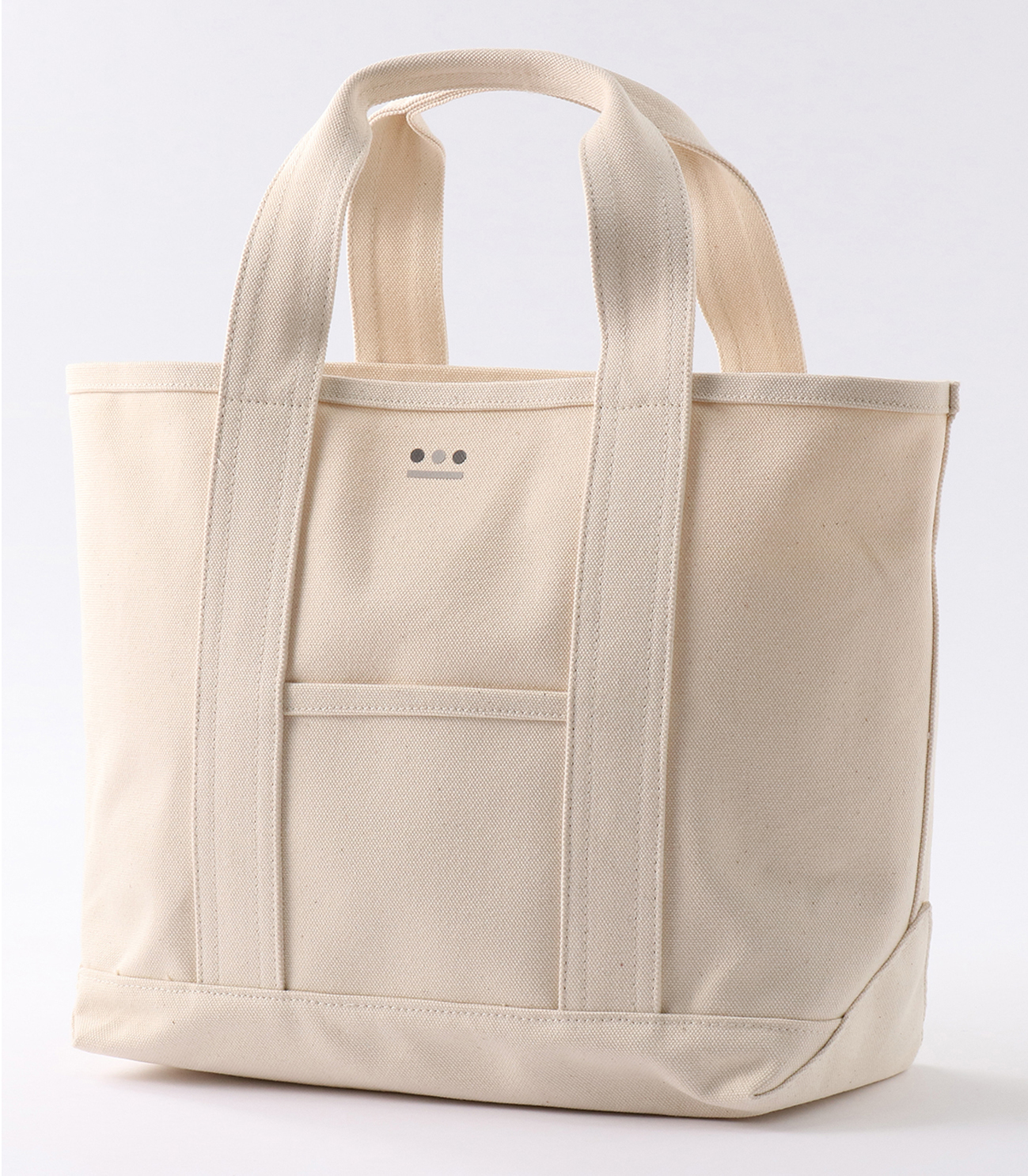 middle tote bag 詳細画像 white 1