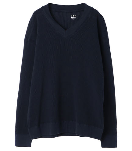 2×2 thermal l/s v neck