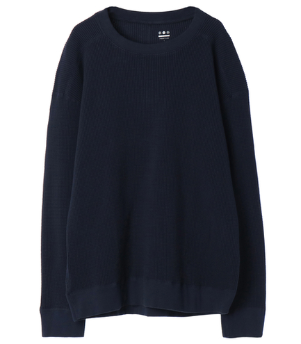2×2 thermal crew neck
