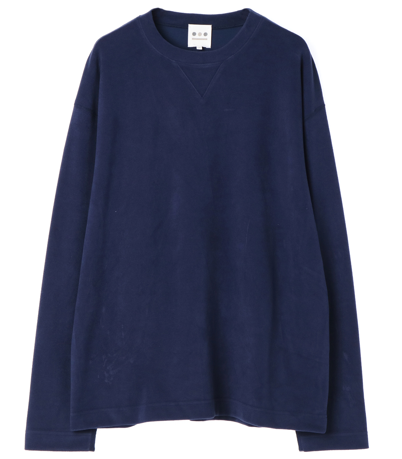 inter lock l/s crewneck po 詳細画像 ink blue 1