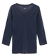 cotton knits 3/4 v-neck nicole 詳細画像