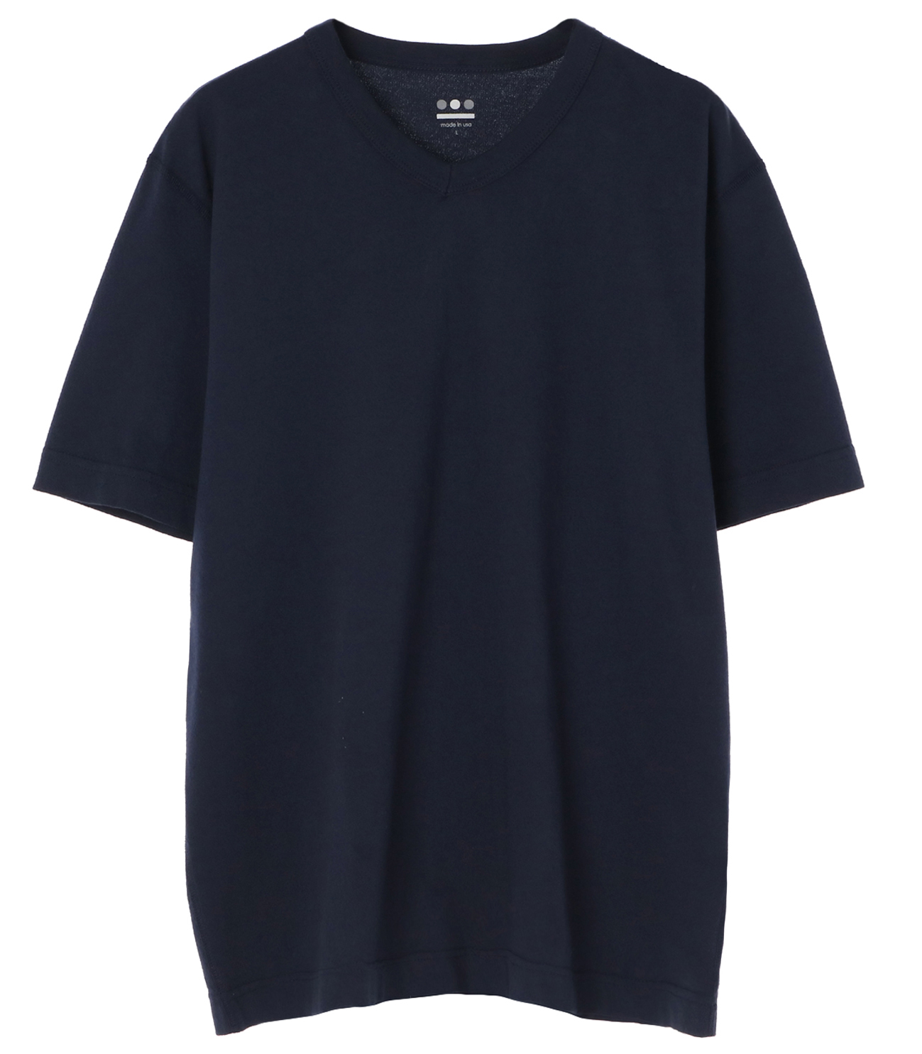 short slv v-neck 詳細画像 night iris 1