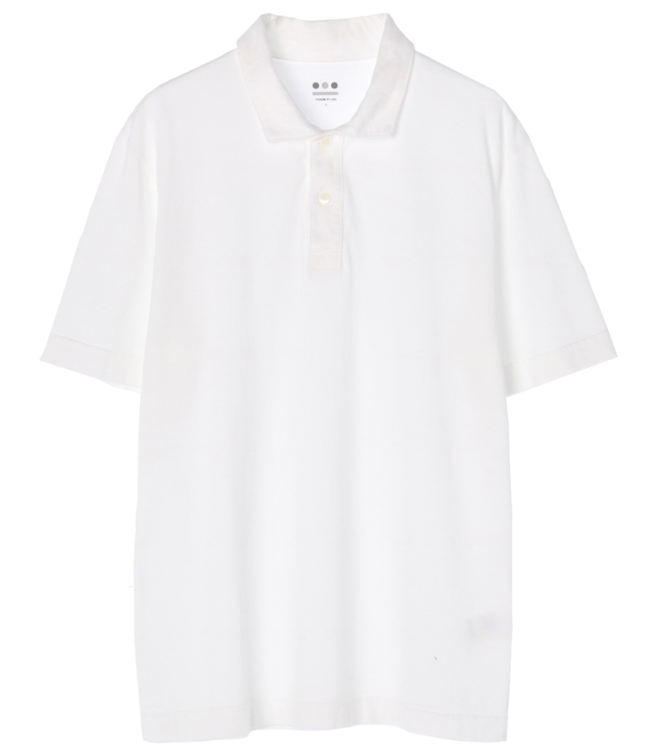 short slv polo 詳細画像 white 1