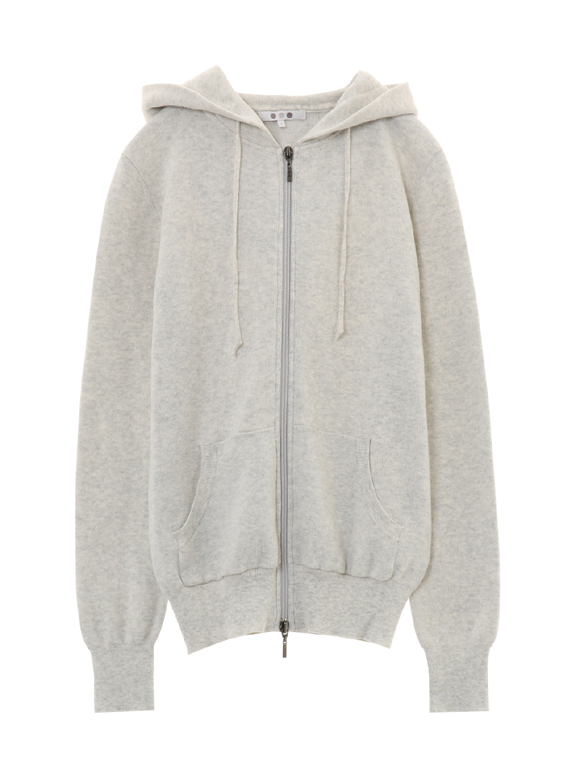 cotton melange l/s hoody