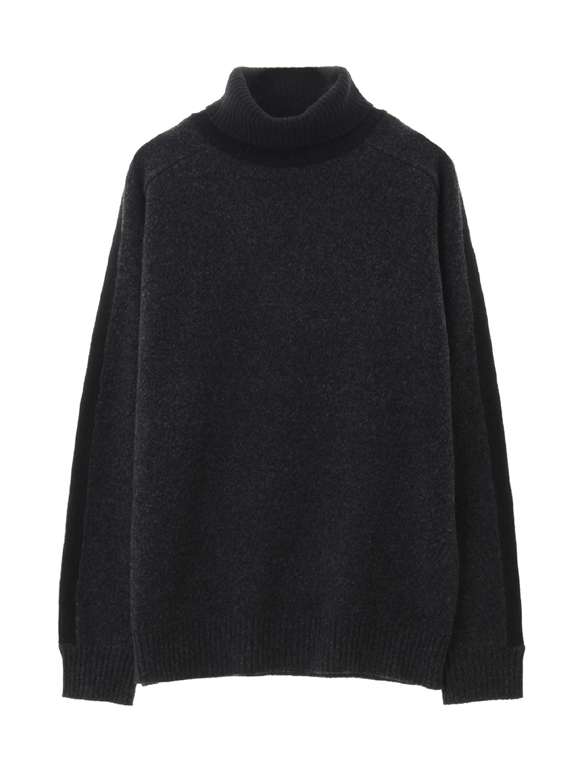 wool cashmere turtle neck