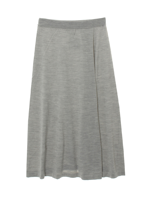 air wool flair midi skirt