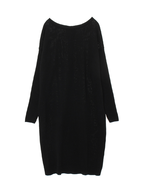 air wool l/s 2way dress cardigan