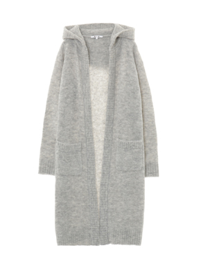 alpaca mixed boucle long cardy 詳細画像
