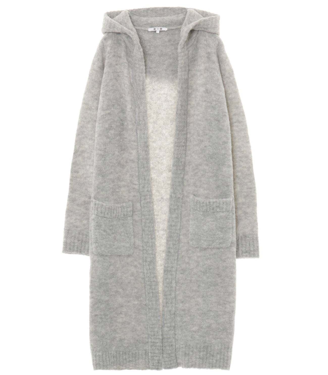 alpaca mixed boucle long cardy 詳細画像 grey 1