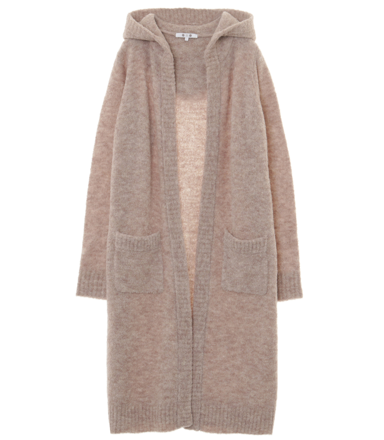 alpaca mixed boucle long cardy 詳細画像 beige 1