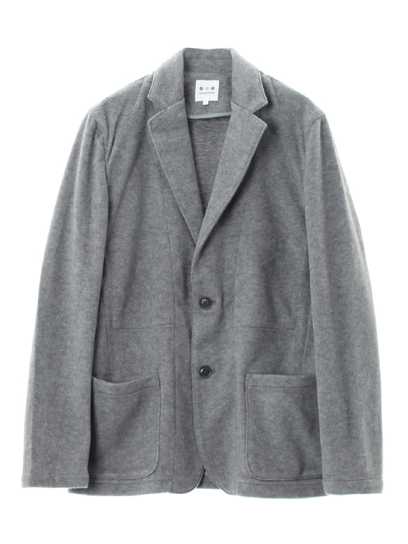 men's brushed shaggy work jacket
