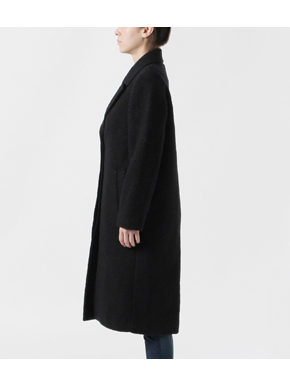 sliver knit chester coat 詳細画像