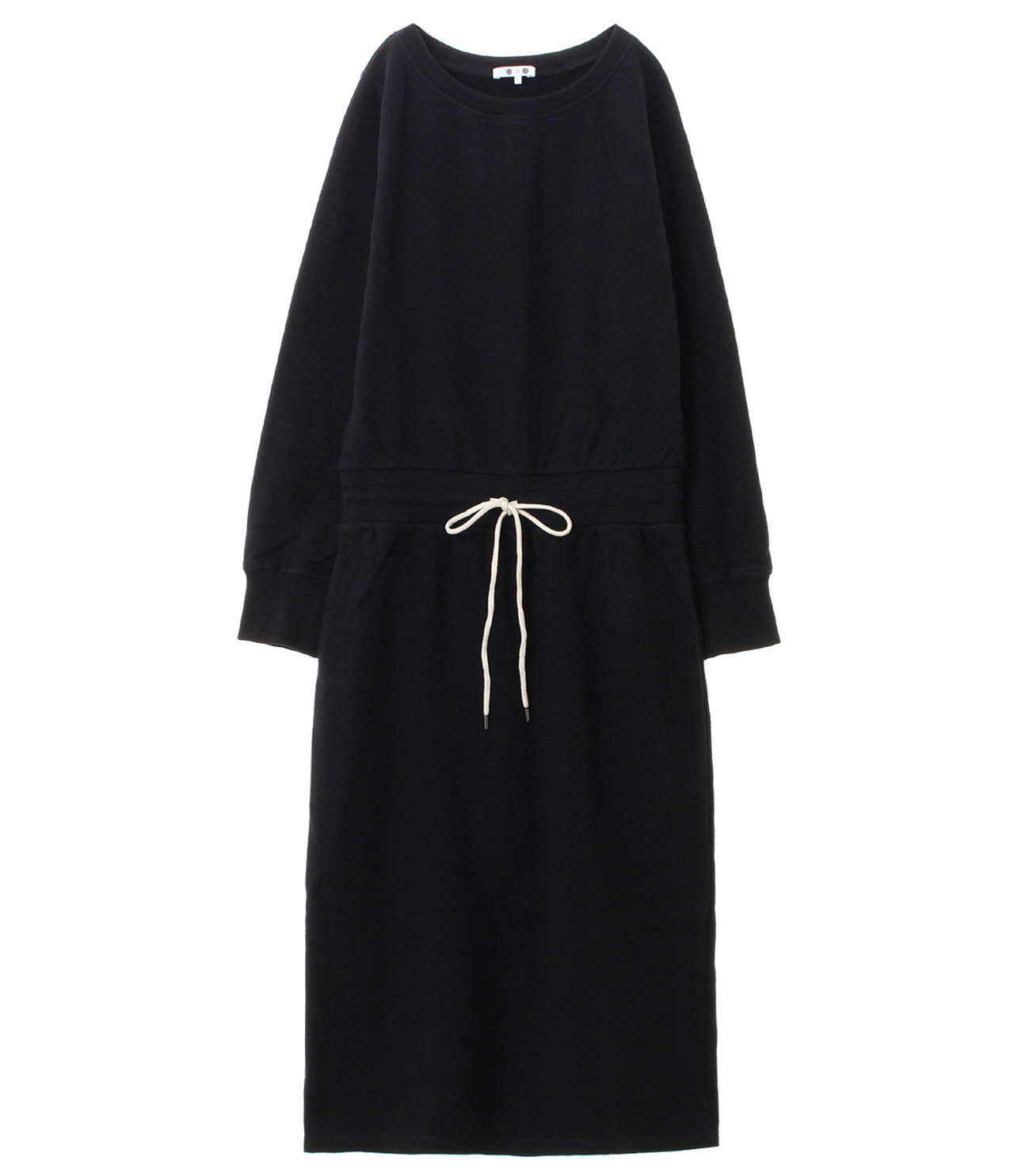 sueded terry dress 詳細画像 black 1