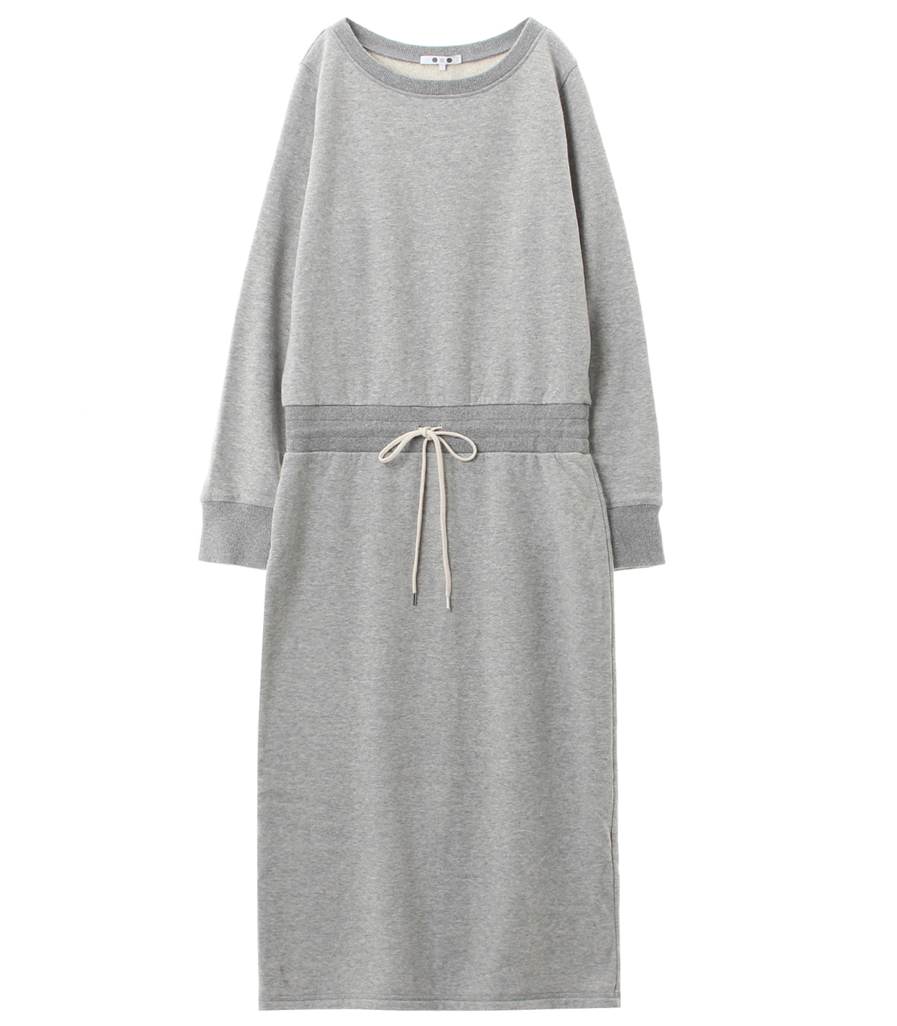 sueded terry dress 詳細画像 granite 1