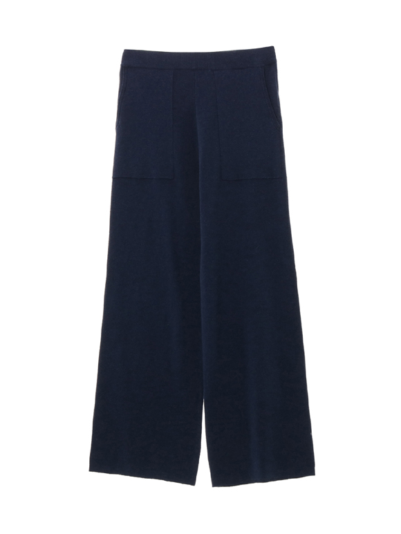 cotton melange smooth baker pant