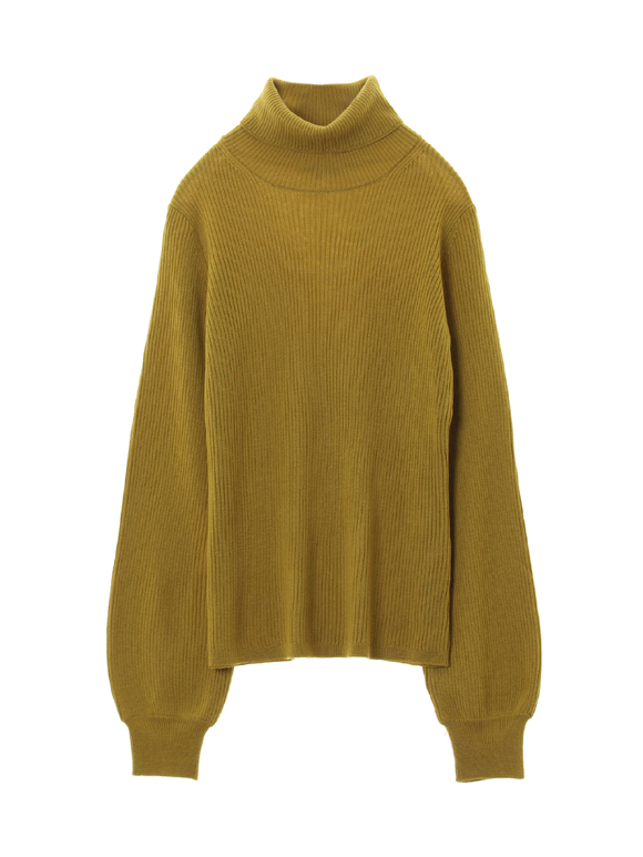 rib sweater l/s turtle neck