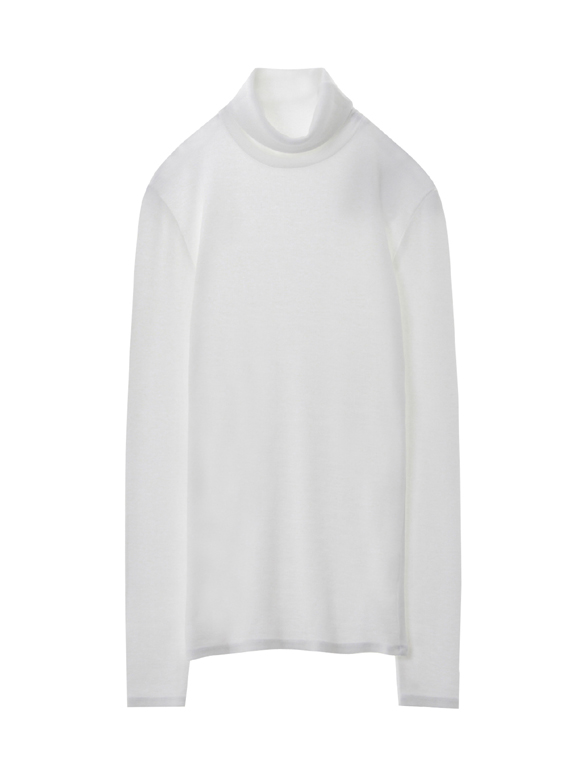 2×1 viscose L/S Turtleneck