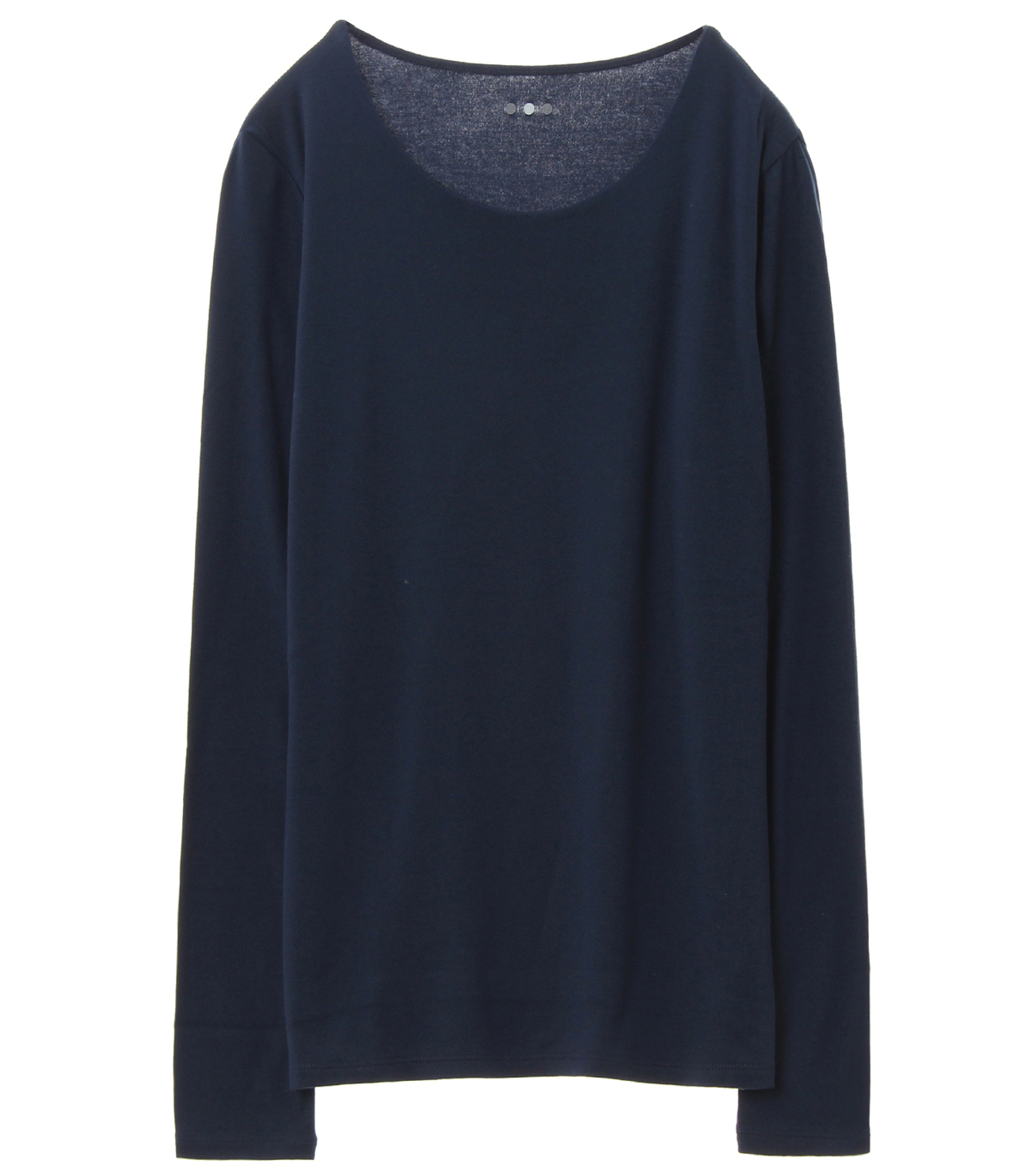 sustinable jersey l/s crewneck pullover 詳細画像 navy 1