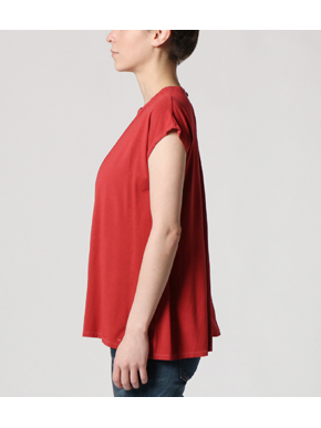 travel line stand collar top 詳細画像
