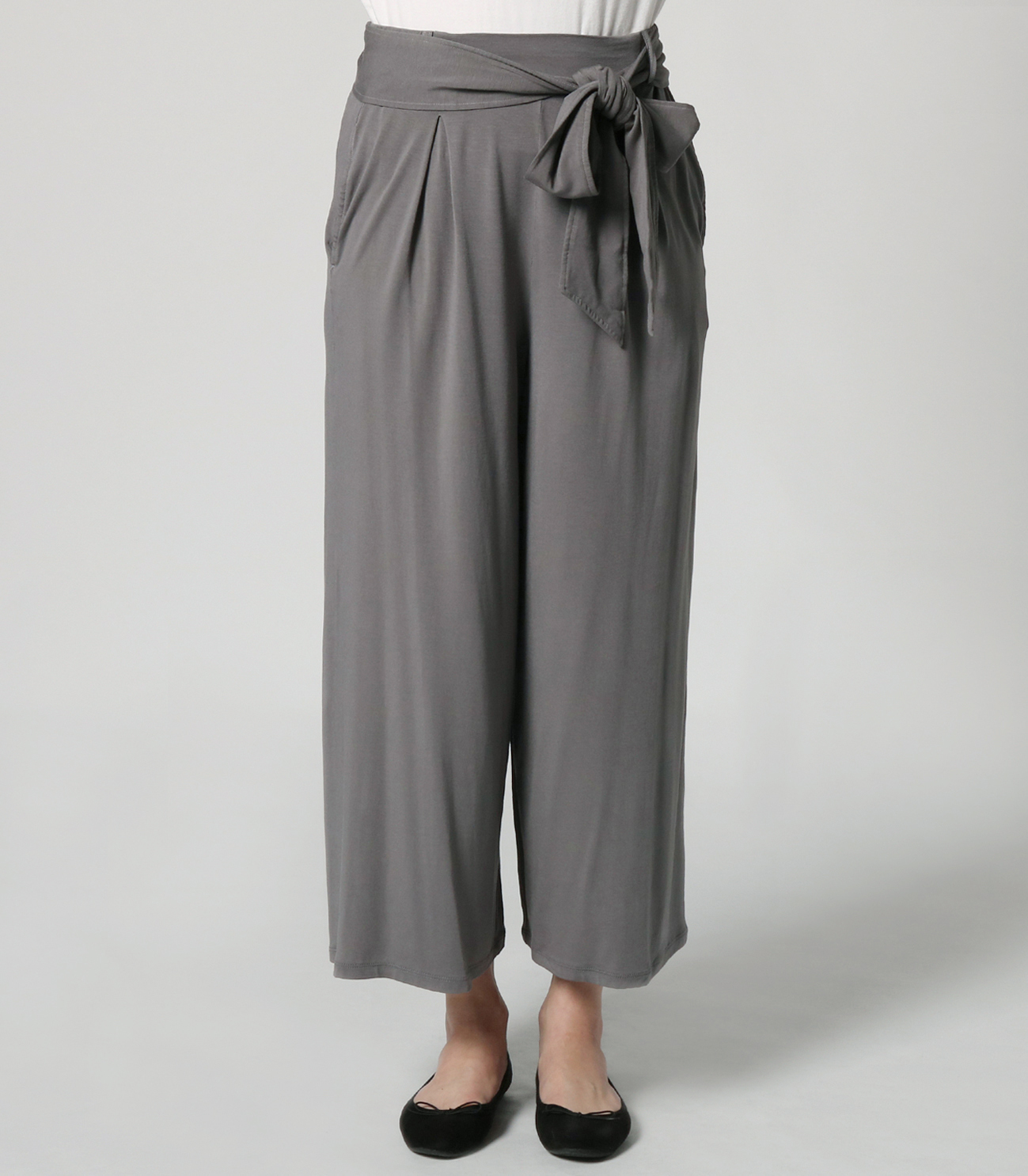 travel line tuck wide pant 詳細画像 shade 2