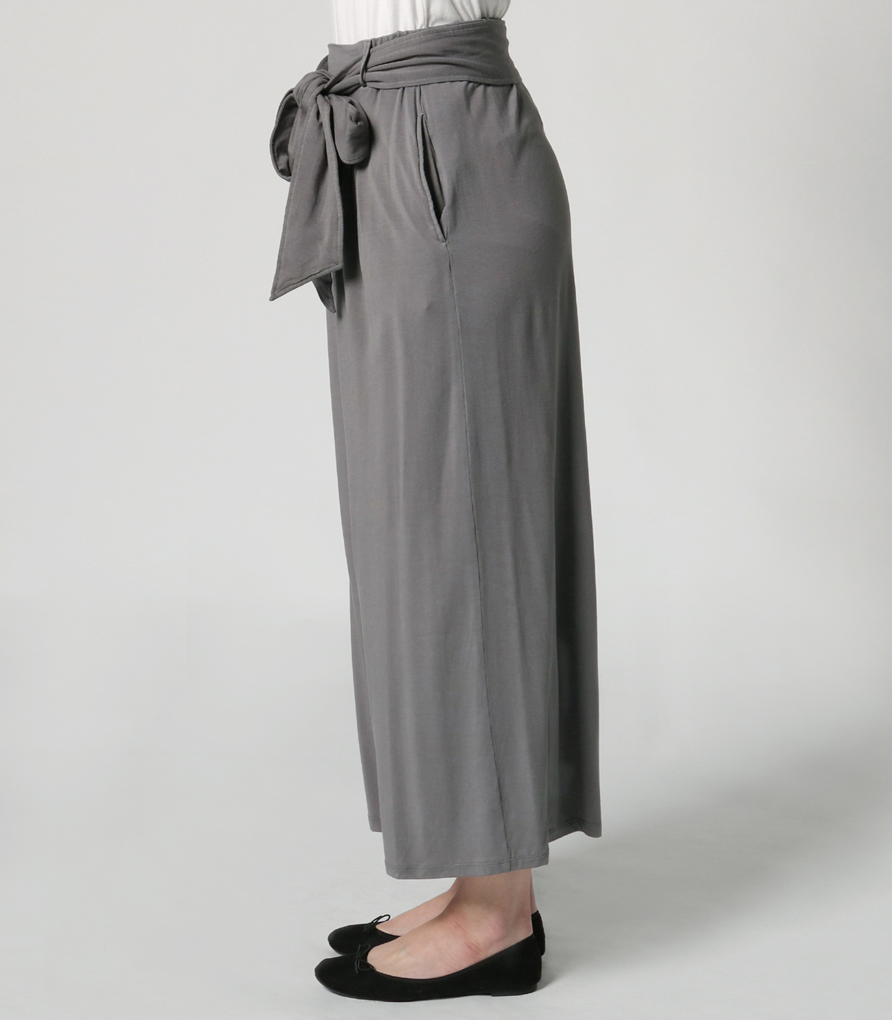 travel line tuck wide pant 詳細画像 shade 3