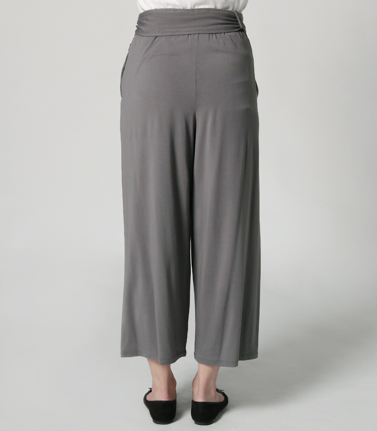 travel line tuck wide pant 詳細画像 shade 4