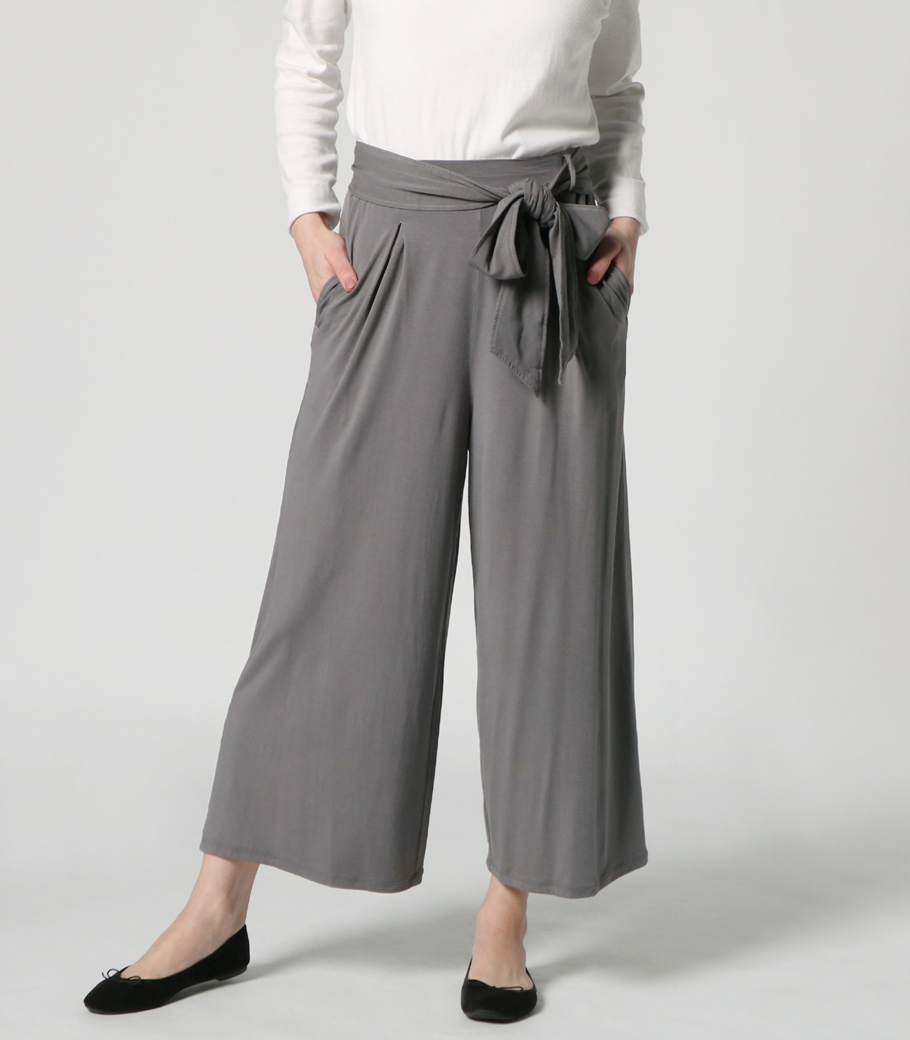 travel line tuck wide pant 詳細画像 shade 6