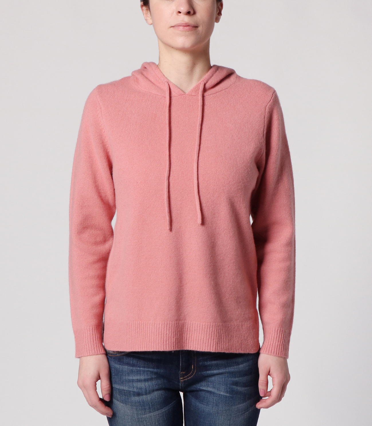 lt smooth wool hooded pullover 詳細画像 dusty rose 2