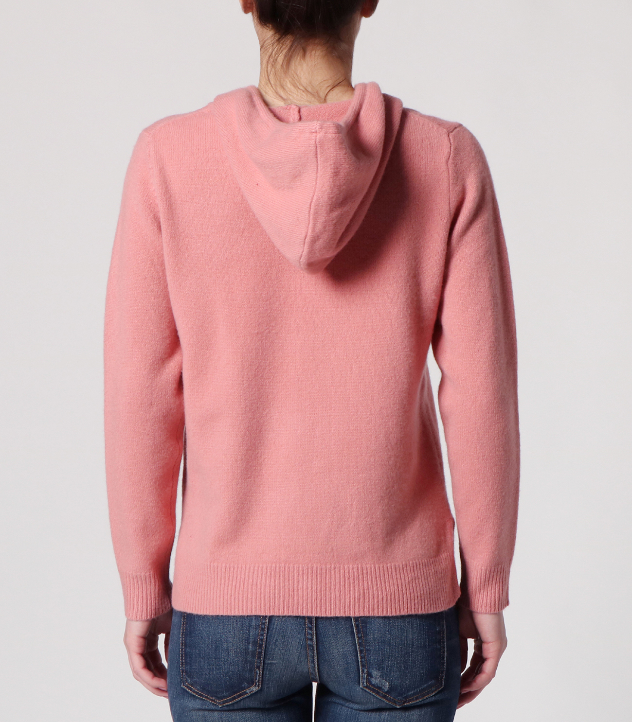 lt smooth wool hooded pullover 詳細画像 dusty rose 4