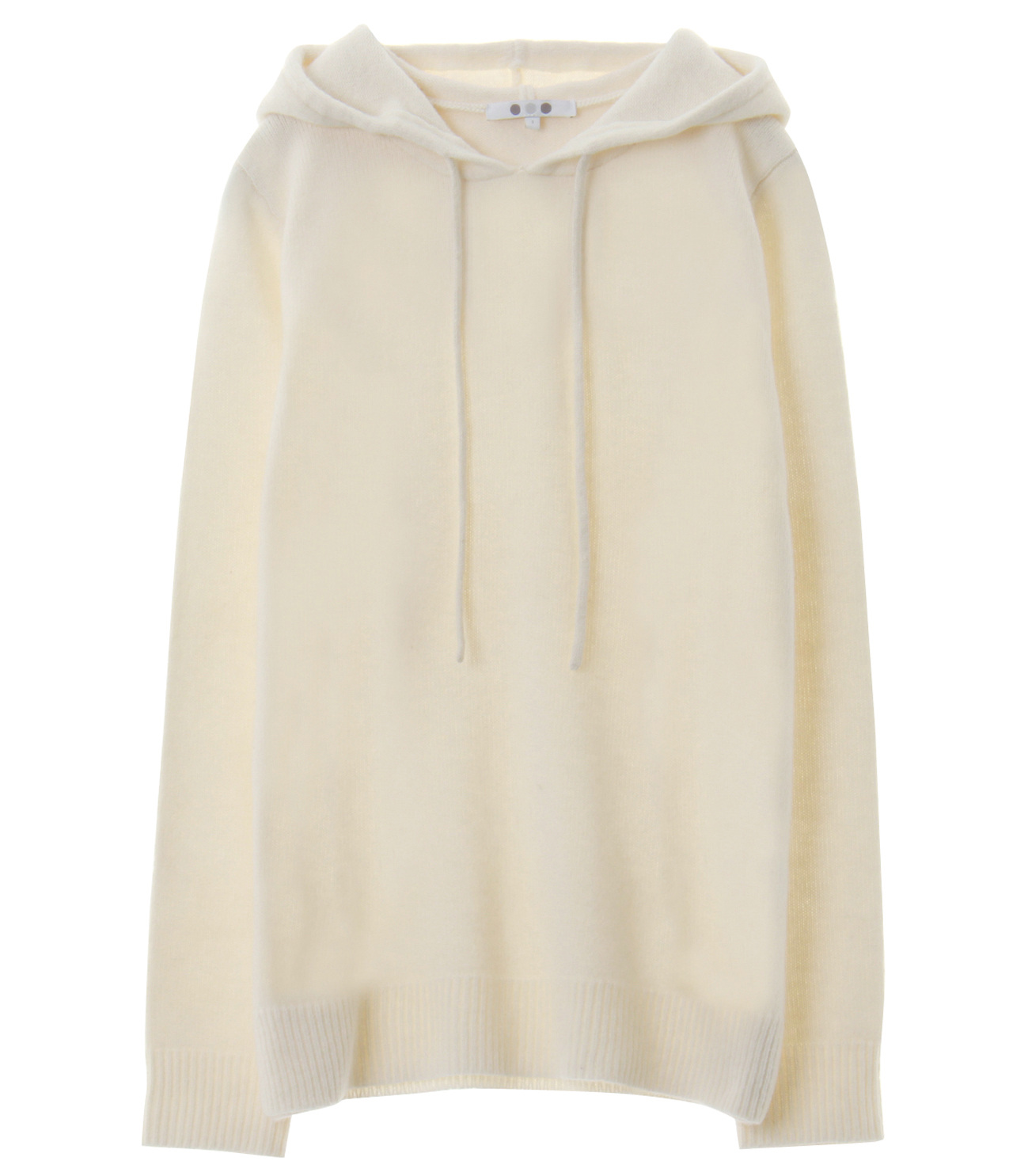 lt smooth wool hooded pullover 詳細画像 winter white 1