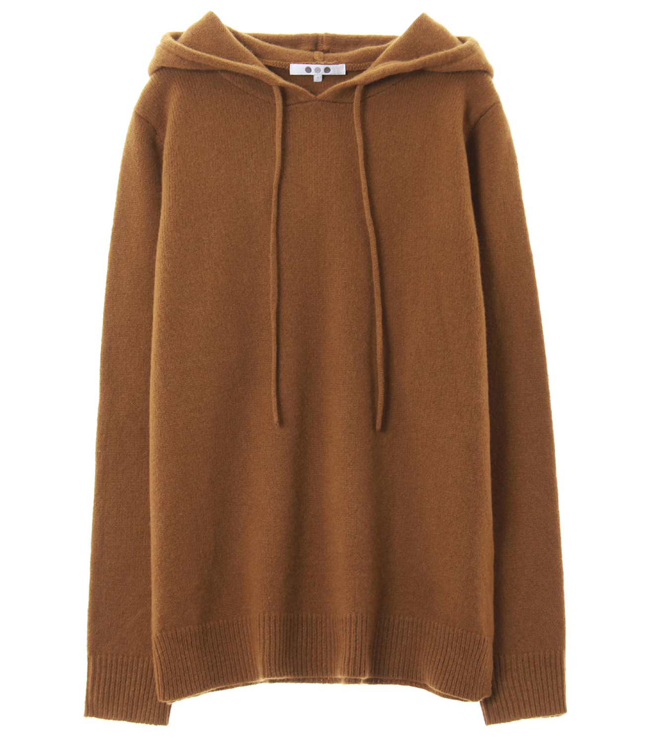 lt smooth wool hooded pullover 詳細画像 brown 1